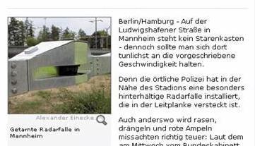 Spiegel Online Ausschnitt